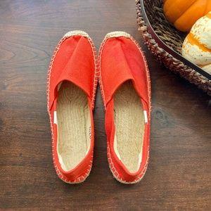🧡 SOLUDOS Orange Espadrilles
